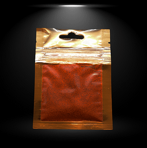 Safran Poudre Pochette Dorée 1 G