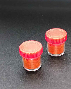 Safran en poudre boite cylindre