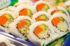 Sushi au Safran