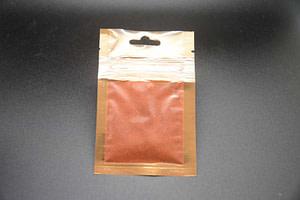 Sachet de safran en poudre